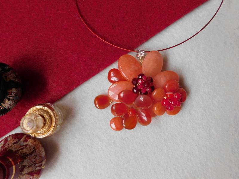 """""""Flori de piatră-Bijoux"""" albumul II-bijuterii artizanale marca Didina Sava - Pagina 8 Colier11"""