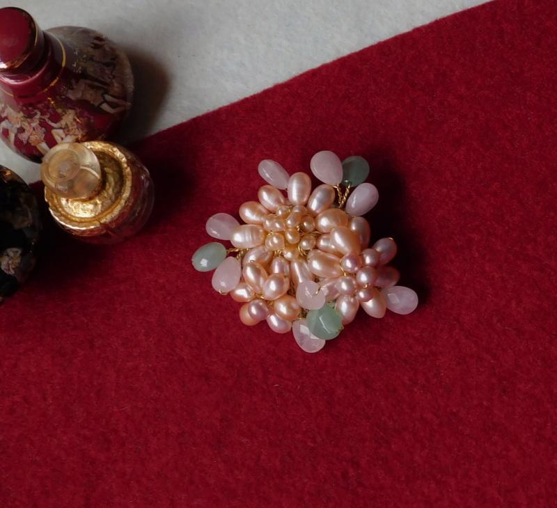 """""""Flori de piatră-Bijoux"""" albumul II-bijuterii artizanale marca Didina Sava - Pagina 8 Colier12"""