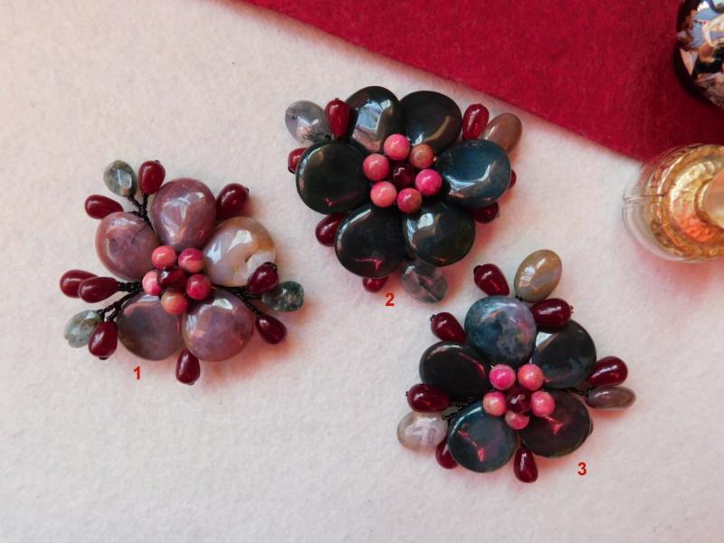 """""""Flori de piatră-Bijoux"""" albumul II-bijuterii artizanale marca Didina Sava - Pagina 4 Colier28"""