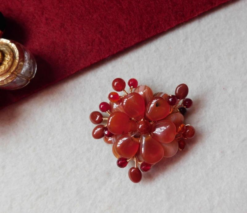 """""""Flori de piatră-Bijoux"""" albumul II-bijuterii artizanale marca Didina Sava Colier44"""