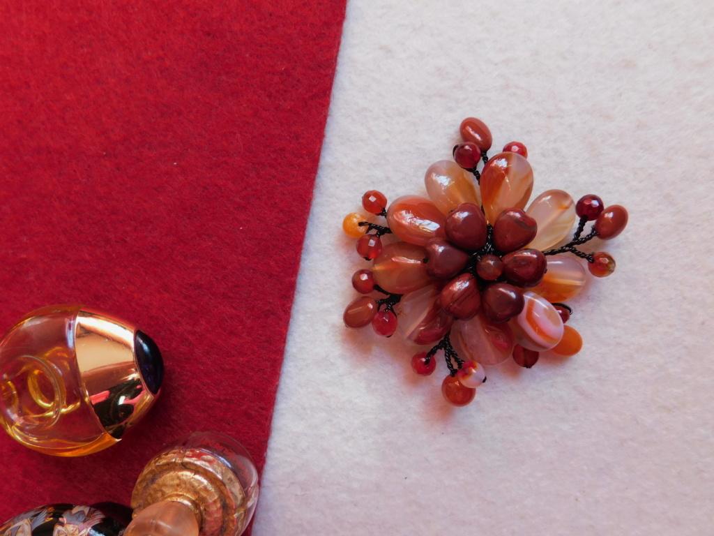 """""""Flori de piatră-Bijoux"""" albumul II-bijuterii artizanale marca Didina Sava Colier49"""