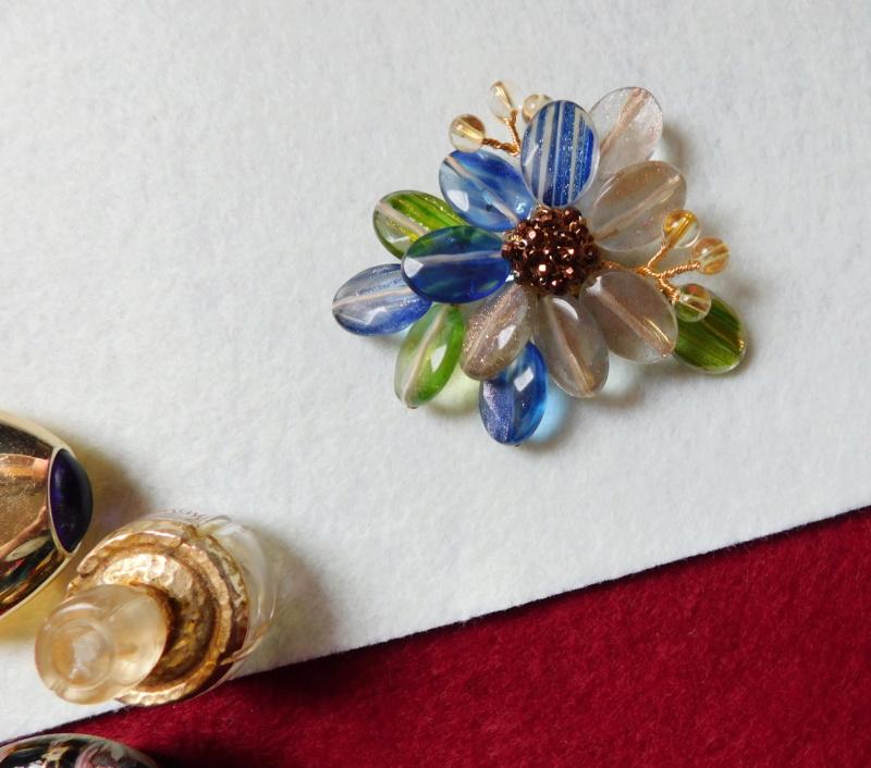 """""""Flori de piatră-Bijoux"""" albumul II-bijuterii artizanale marca Didina Sava Colier60"""