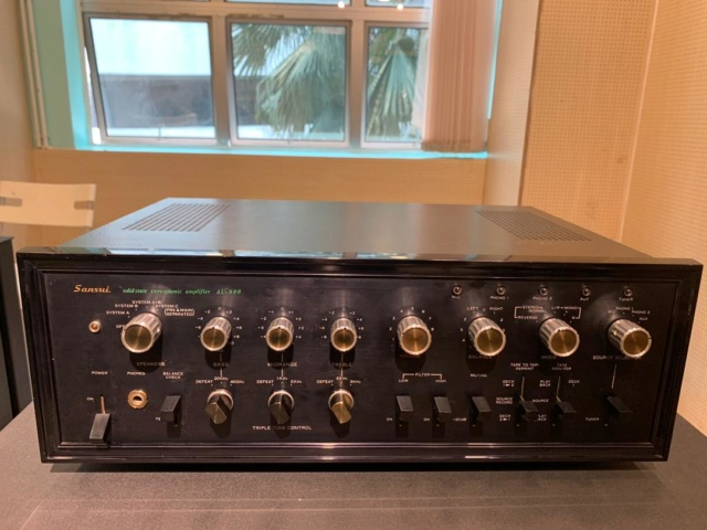 Sansui AU-999 Solid State Integrated Amp (Used) Sold Img-2013