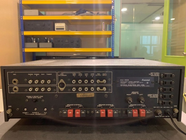 Sansui AU-999 Solid State Integrated Amp (Used) Sold Img-2014