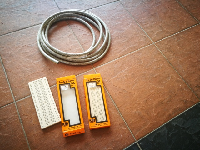 Project Board & Power Cable (Used) - give away Free (Gone) Img_2035
