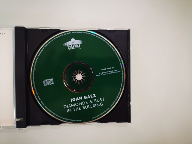 CD Joan Baez - Diamonds And Rust In The Bullring (New) FIRST PRESS. Price Reduced!!! Img_2122