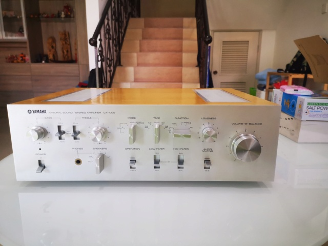 Yamaha CA-1000 (240V) Class A/AB Integrated Amp (Used) SOLD Img_2159