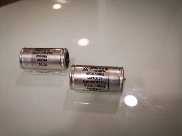 Jensen PIO (Pure Copper Foil) Audio Capacitor (Used) Img_2168
