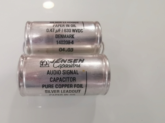 Jensen PIO (Pure Copper Foil) Audio Capacitor (Used) Img_2169