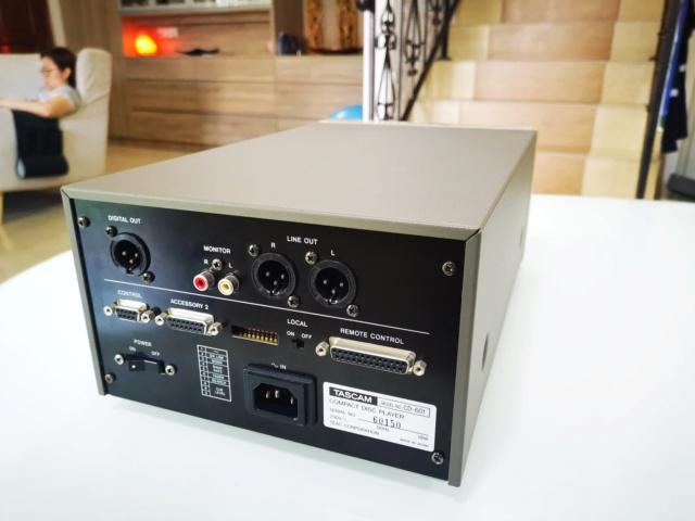Tascam CD-601MKI Studio Broadcast CD Player (Used) Img_2210