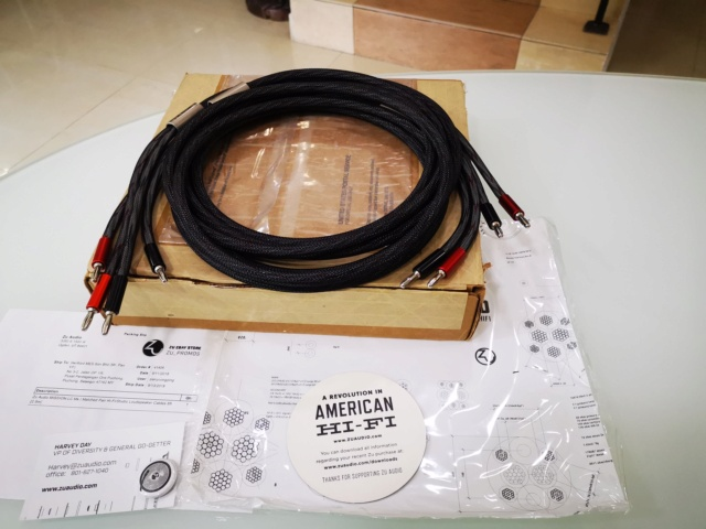 Zu Audio Mission Mk1 speaker cable (Used) SOLD Img_2255