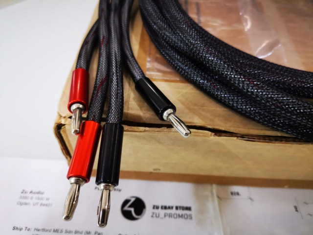 Zu Audio Mission Mk1 speaker cable (Used) SOLD Img_2256