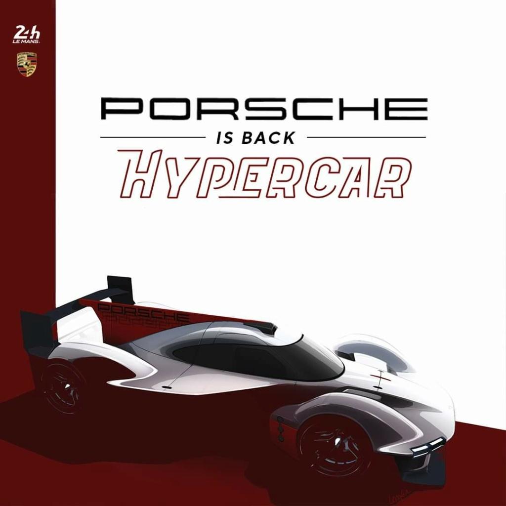 Le retour de Porsche au Mans  13175310
