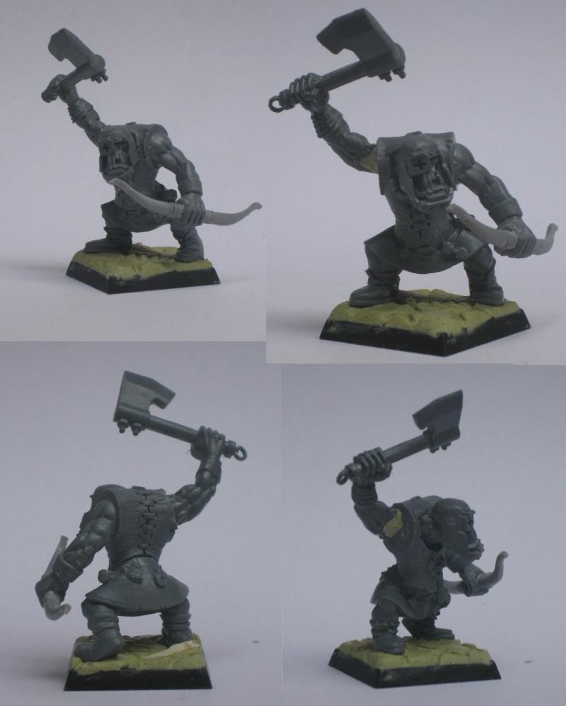 (Black) Orc Warband Practice WIP Shoota10