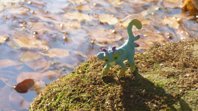 SCHLEICH : mes chevaux, mes dragons et autres figurines P1250750