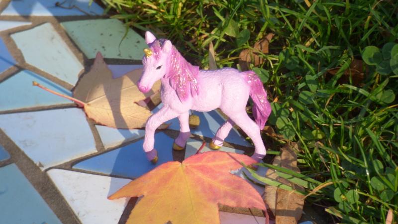 SCHLEICH : mes chevaux, mes dragons et autres figurines P1250753