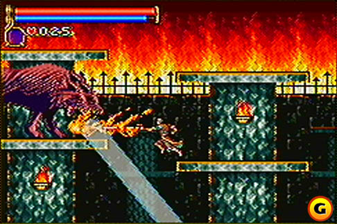 Castlevania: Circle of the Moon (GBA) Castle10