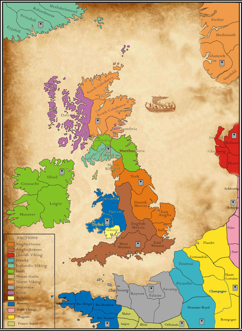 Carte campagne Saga Invasion Viking Carte_12