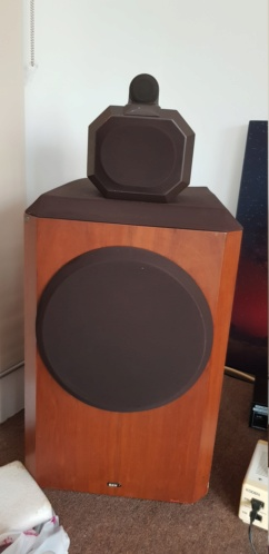 Used B&W 801 series 80 speakers  20190711