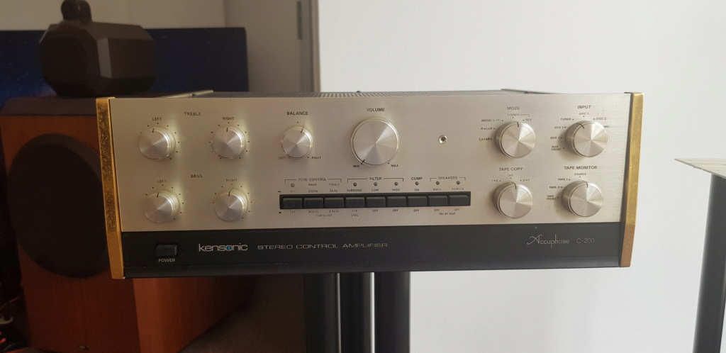 ( sold )Accuphase C200 Preamp & Accuphase M-60 Mono Block Power Amp(used) 20190811