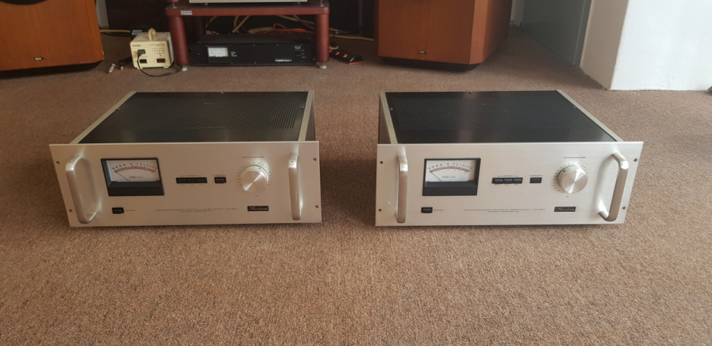 ( sold )Accuphase C200 Preamp & Accuphase M-60 Mono Block Power Amp(used) 20190816