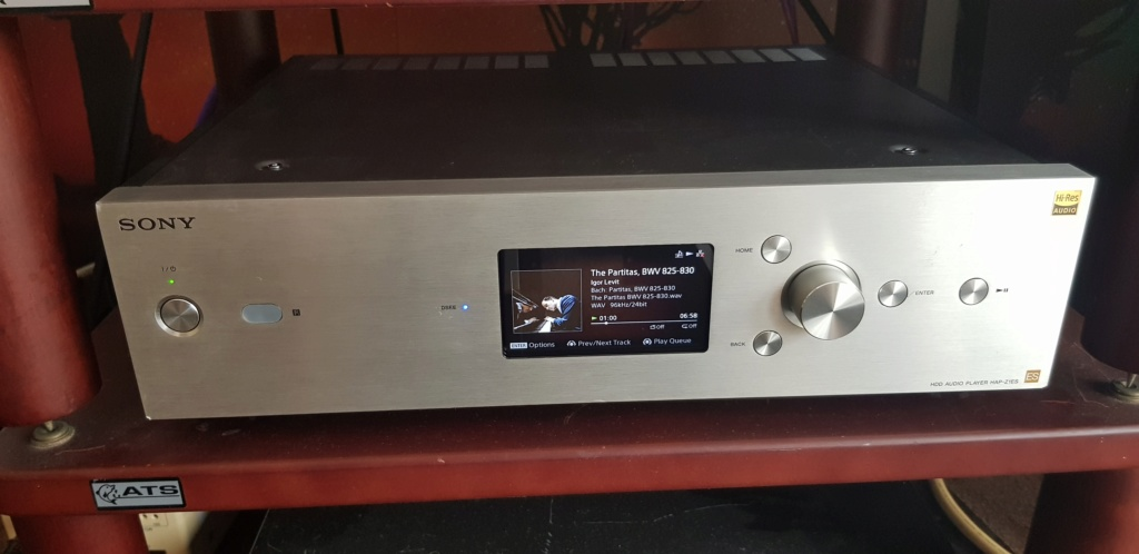 (sold)Sony HAP-Z1ES Hi-Resoution Audio Player 120V (used) 20190828