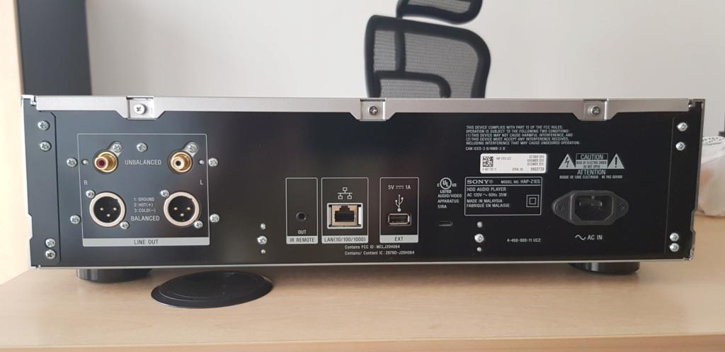(sold)Sony HAP-Z1ES Hi-Resoution Audio Player 120V (used) 20190829