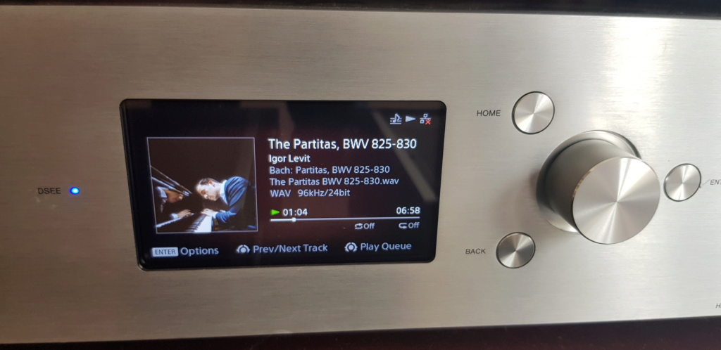(sold)Sony HAP-Z1ES Hi-Resoution Audio Player 120V (used) 20190832
