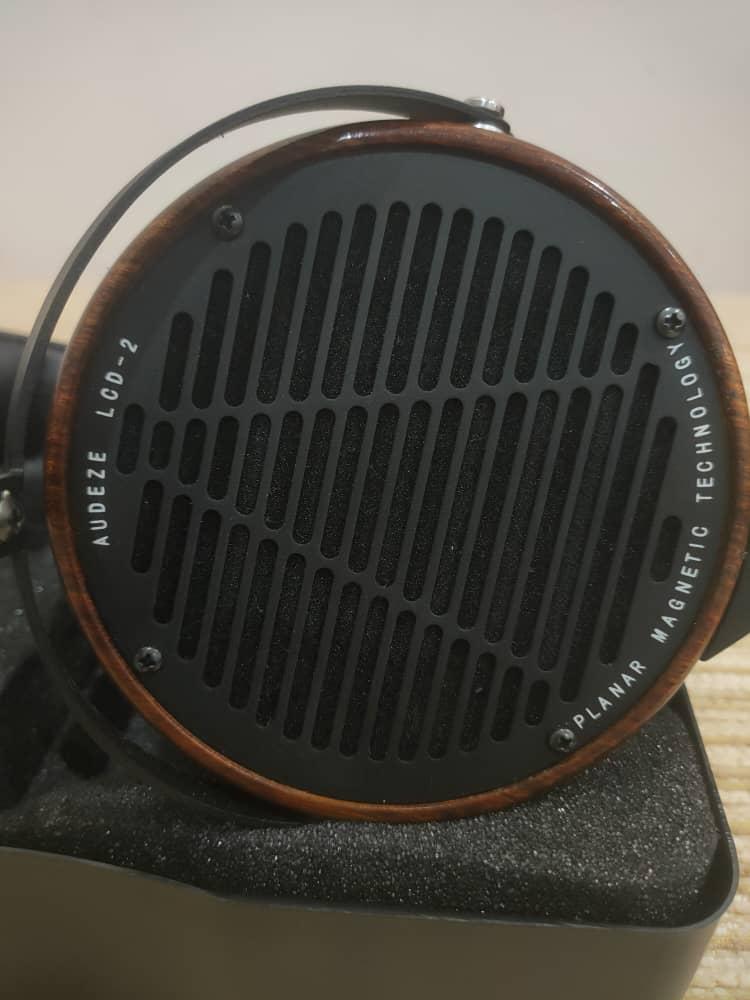 Audeze LCD-2 Rosewood planar magnetic headphone  c/w case(sold) Audeze13