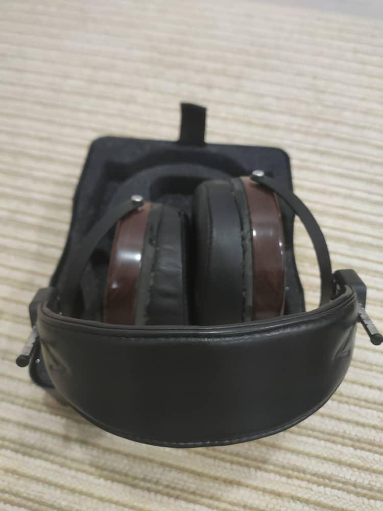 Audeze LCD-2 Rosewood planar magnetic headphone  c/w case(sold) Audeze15