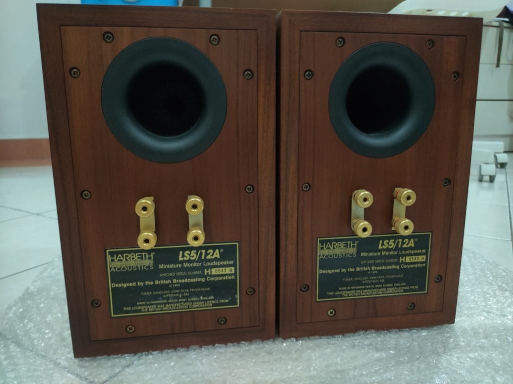 Harbeth LS5/12A speaker (used)  Img20220