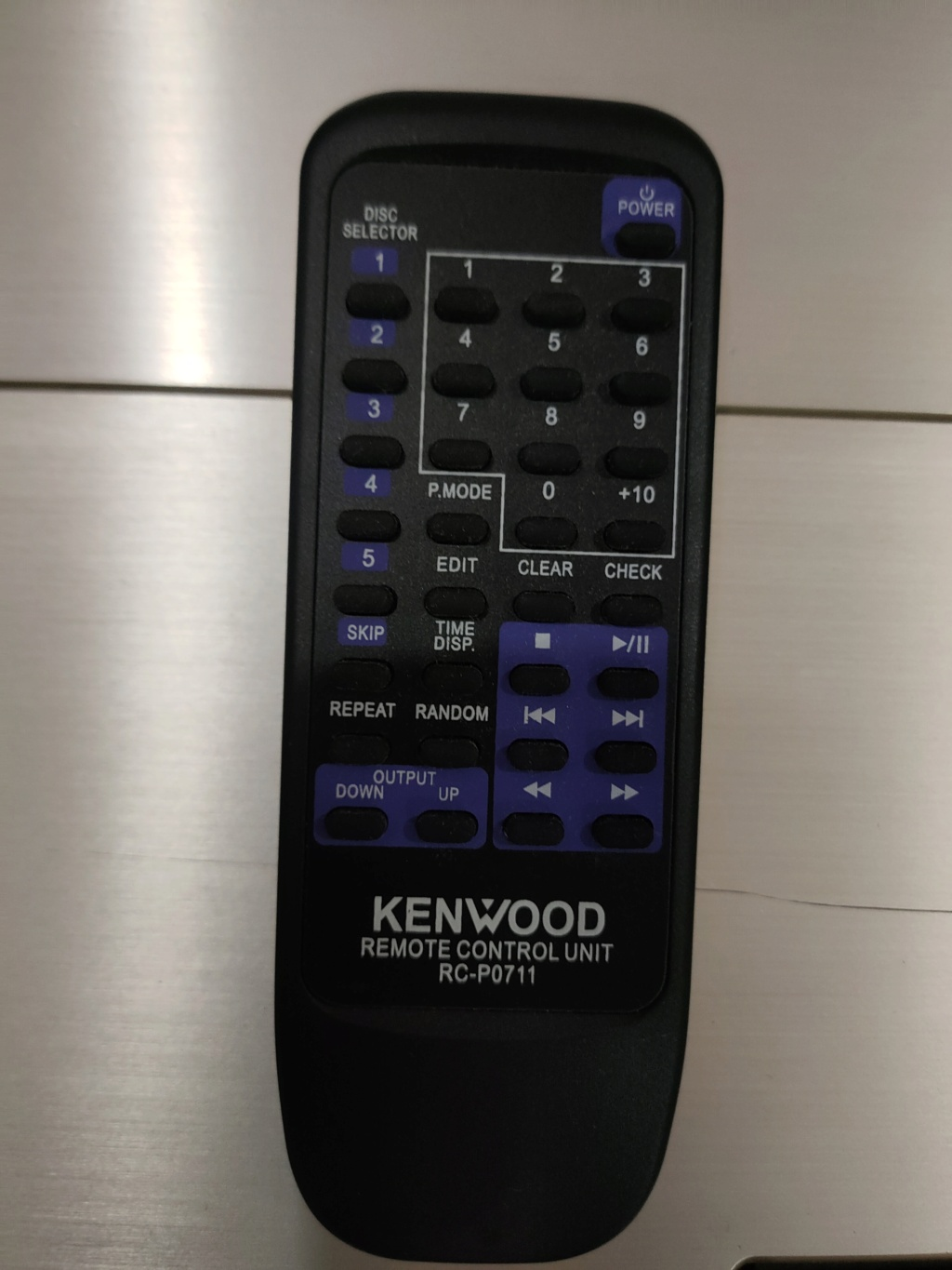 Kenwood L-D1 cd player (100v)  Img20225