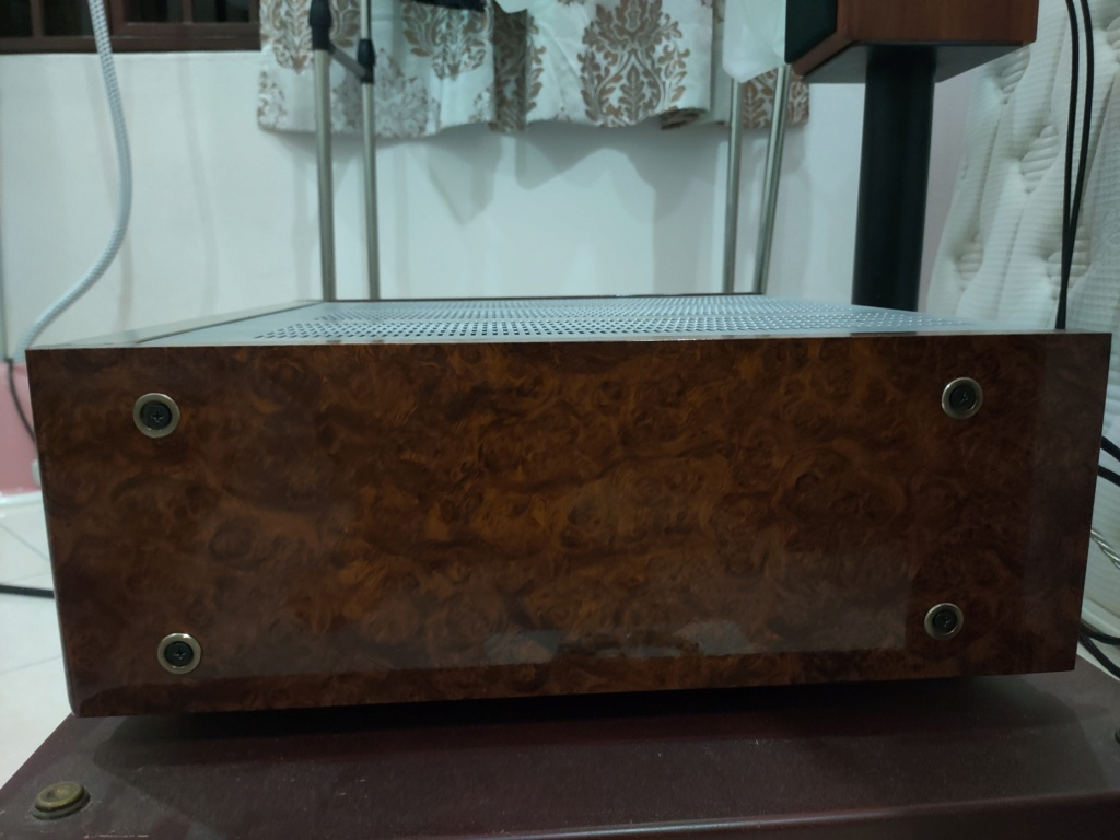 Kenwood L-A1 Amp(100v)  Img20229