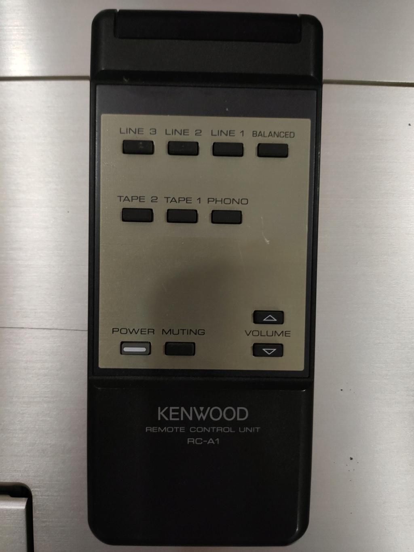 Kenwood L-A1 Amp(100v)  Img20232