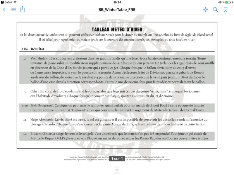 [BB16] Rumeurs et nouveautés chez GW & FW. - Page 25 Img_2557
