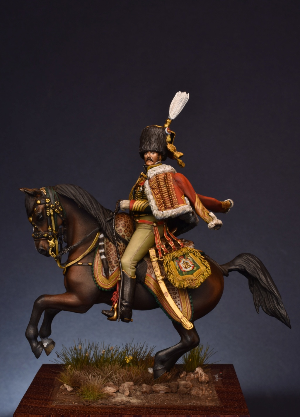 Etienne Guyot -  colonel des chasseur de la garde Guyot_15