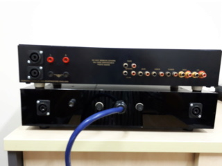 NVA AP50 amplifier with external power supply (Dual Mono) 20180811