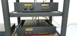 Chord CP2200 pre amplifier and Chord SPM 600 power amplifier (sold) Chordf10