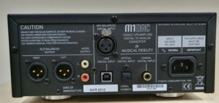 Musical Fidelity M1DAC A digital analogue converter M1dacr10