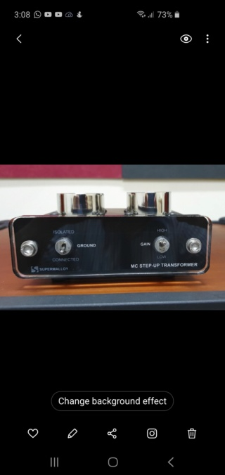 SAC MC step up transformer model (sold) Sut-re10