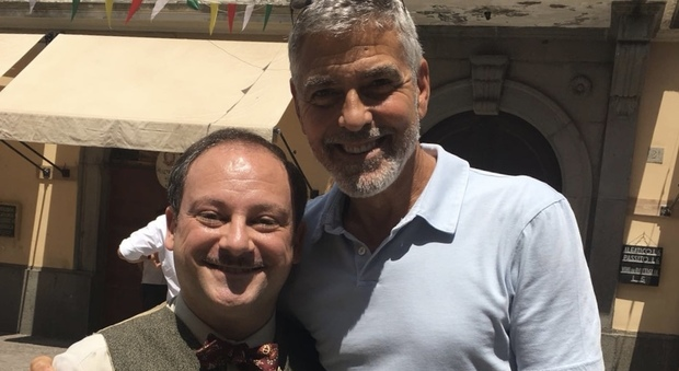 George Clooney filming in Rome 38694010