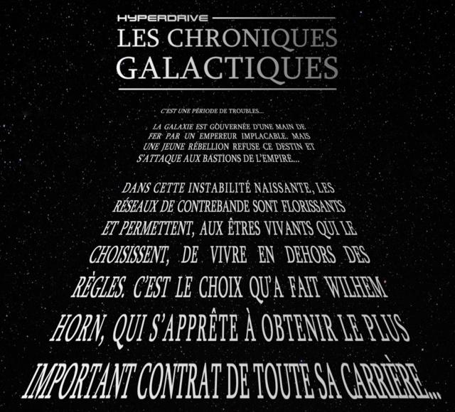 Les Chroniques Galactiques, fiction audio 100% Star Wars Textes13