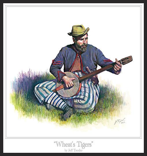 le joueur de banjo par BONO 9fecf210