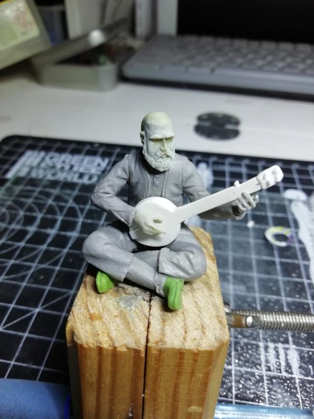 le joueur de banjo par BONO Img_2097