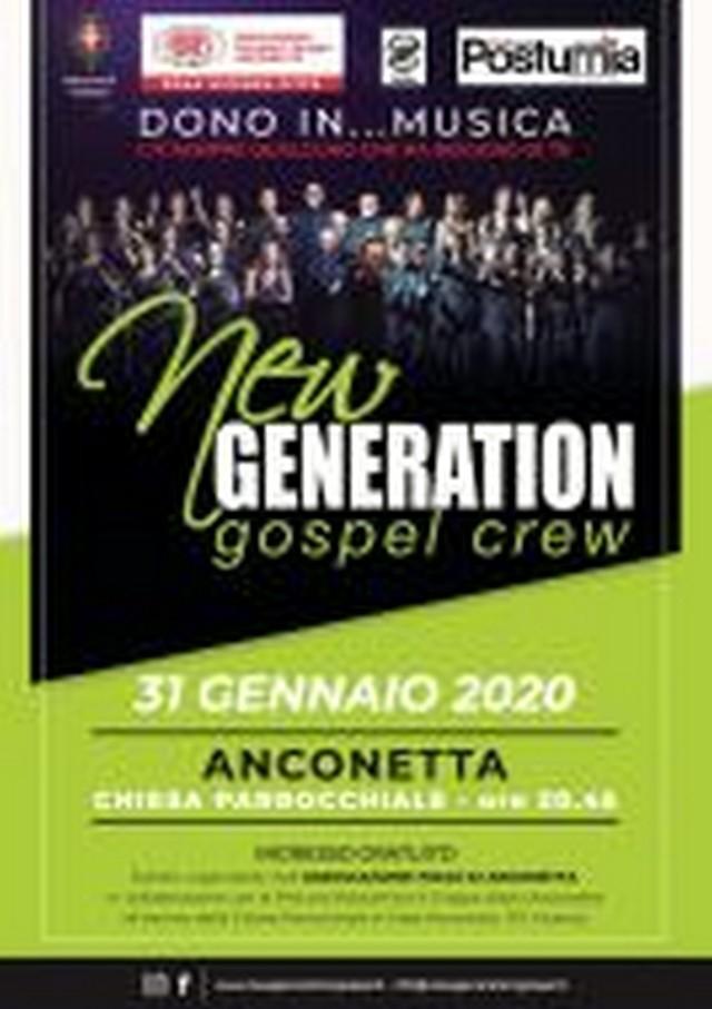 New Generation Gospel Crew in concerto a Anconetta, venerdì 31 gennaio 2020 1_jfif10
