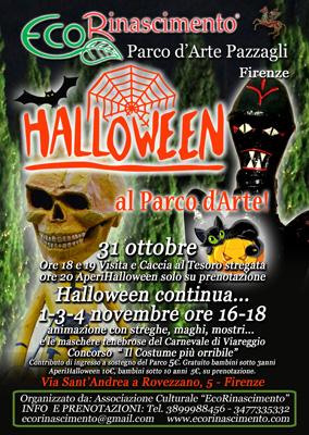 "HALLOWEEN A ""ECORINASCIMENTO-PARCO D'ARTE PAZZAGLI"" 31 OTTOBRE-1- 3- 4 NOVEMBRE 1e_loc10"