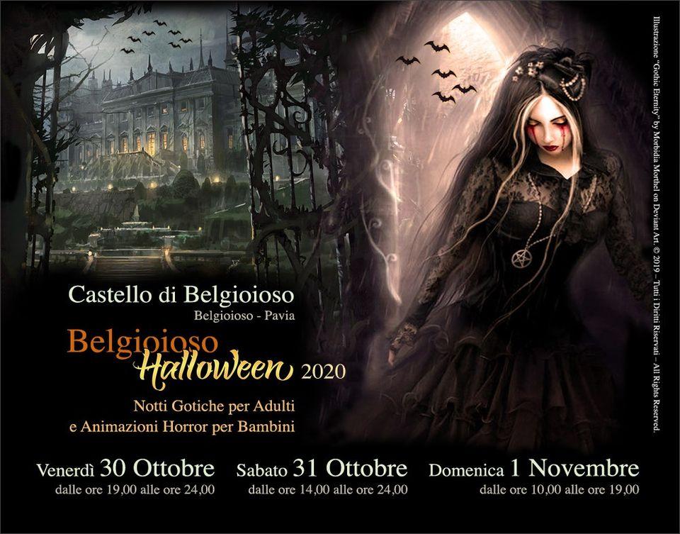 Castello di Belgioioso - Halloween 2020 Belgio10