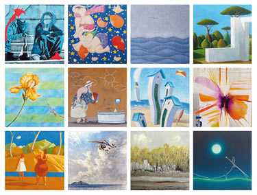 """Calendario 2020"": 12 artisti alla galleria Mercurio Arte Contemporanea Calend10"