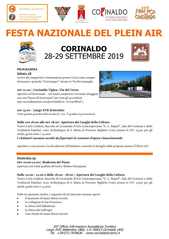 FESTA NAZIONALE DEL PleinAir a Corinaldo (AN) - 28 e 29 settembre Corina10