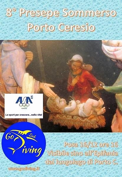 EVENTO - Presepe Sommerso di Porto Ceresio (VA) Locand10